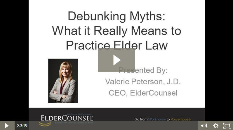 Debunking Elder Law Myths