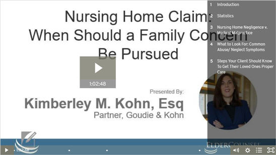 Nursing Home Claim