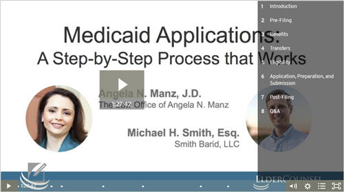 medicaid applications
